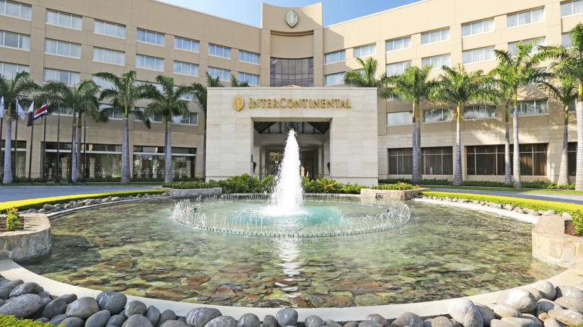 Aussenbereich Hotel Intercontinental Costa Rica At Multiplaza Mall San Jose