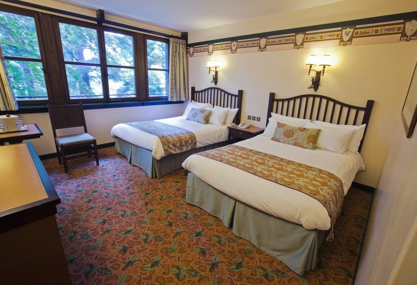 Camere Santa Fe Disneyland : Hotel disneys sequoia lodge in disneyland paris ab 111 u20ac destinia