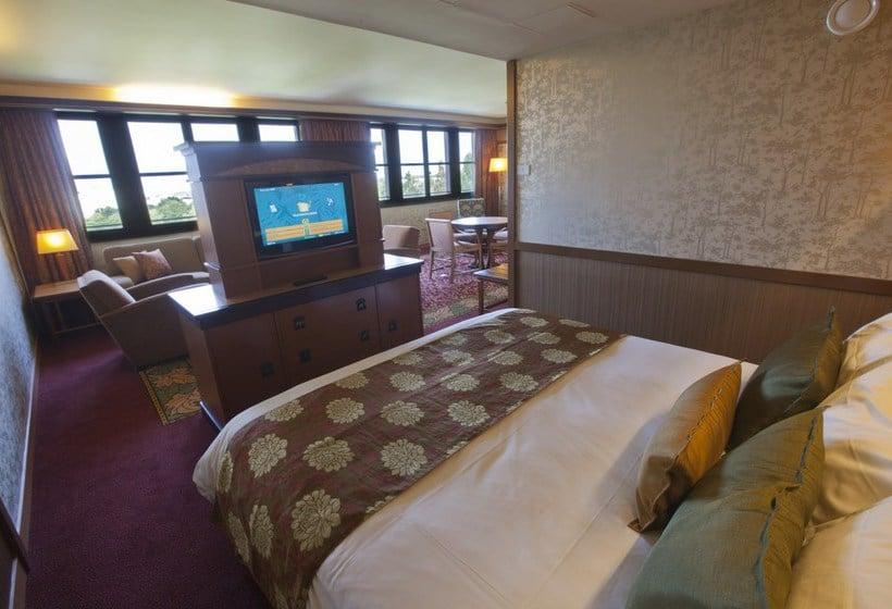 Camere Disneyland Paris : Hotel disney s sequoia lodge in disneyland paris ab u ac destinia