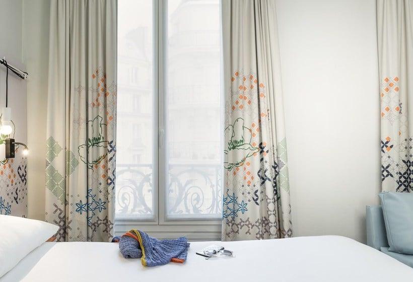 Quarto Hotel Ibis Styles Paris Gare Saint Lazare