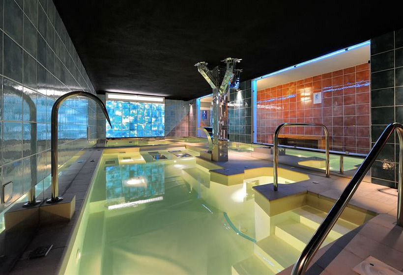 Swimming pool Hotel Santoli Porretta Terme