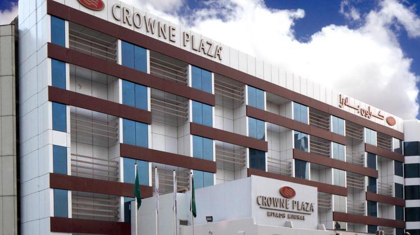 Outside Hotel Crowne Plaza Riyadh Minhal
