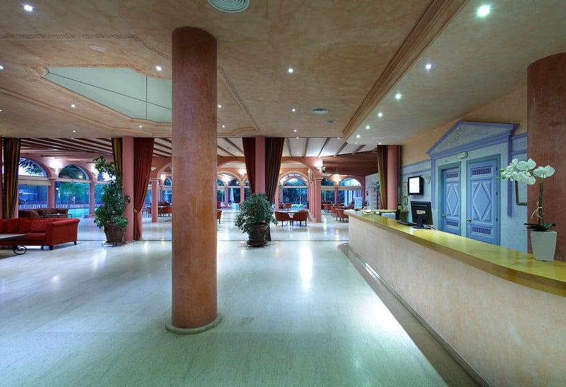 Recepción Exe Gran Hotel Solucar Sanlucar la Mayor