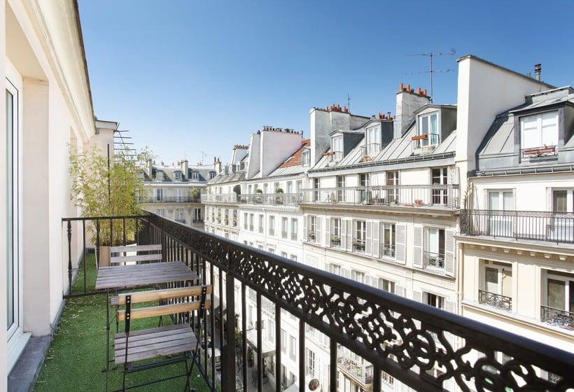 Parking Exterieur Paris Of H Tel Maison Nabis By Happyculture Paris Partir De 61