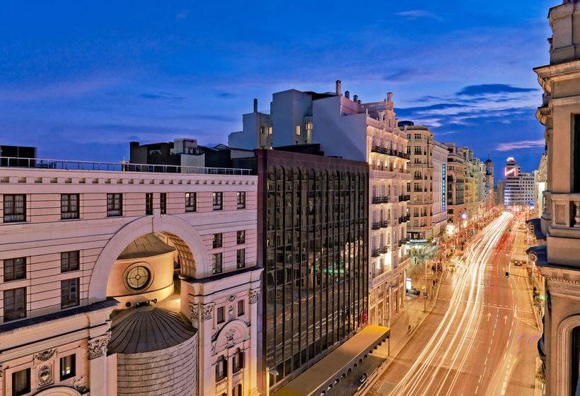 Aussenbereich H10 Villa de la Reina Boutique Hotel Madrid