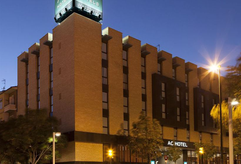 Exterior Hotel AC Zaragoza Los Enlaces by Marriott