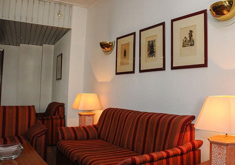 공용 공간 호텔 Almedina Coimbra