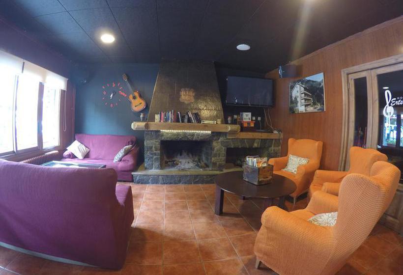 Zonas comuns Hotel Erts La Massana