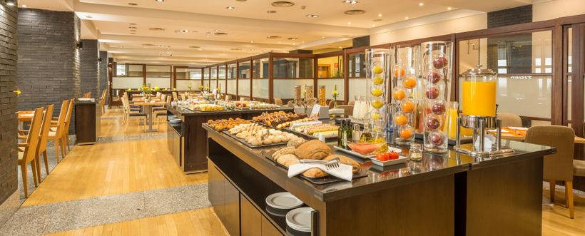 Restaurante Hotel Hesperia A Coruña Corunha