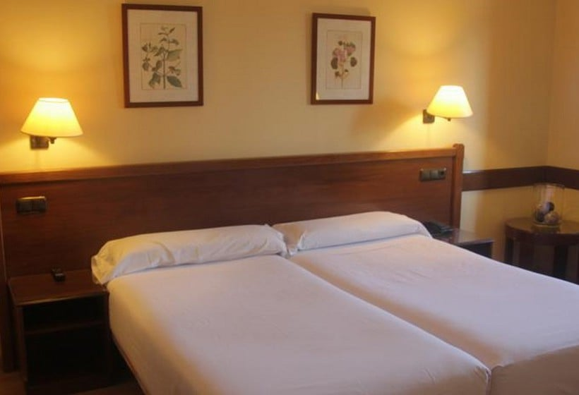 Room Hotel Oriente Saragossa