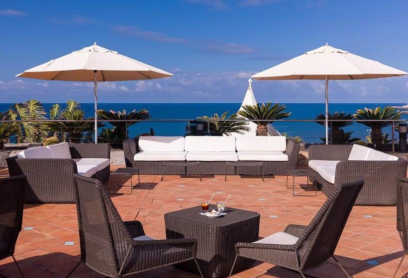 Terraza Hotel H10 Playa Meloneras Palace