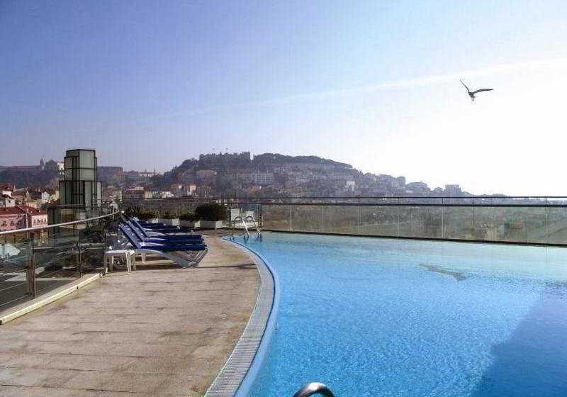 プール VIP Executive Eden Aparthotel リスボン