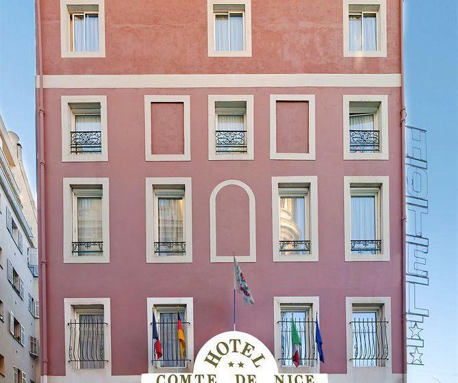 hotel comte de nice in nice starting at 18 destinia. Black Bedroom Furniture Sets. Home Design Ideas