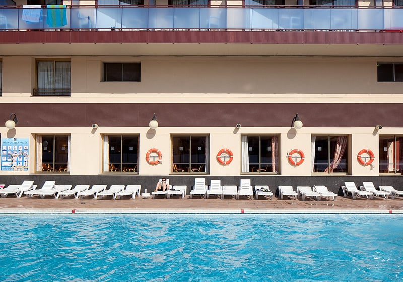 Piscina Hotel H Top Calella Palace & Spa