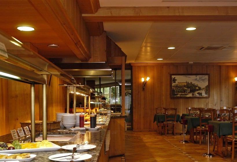 مطعم فندق Tropical ليس إيسكالديس-إنغورداني