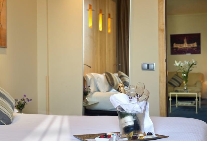 Zimmer Hotel Abba Madrid