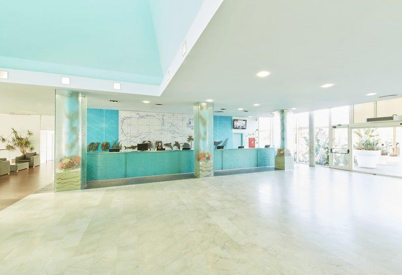 RecepÇão PortAventura Hotel Caribe Resort Salou