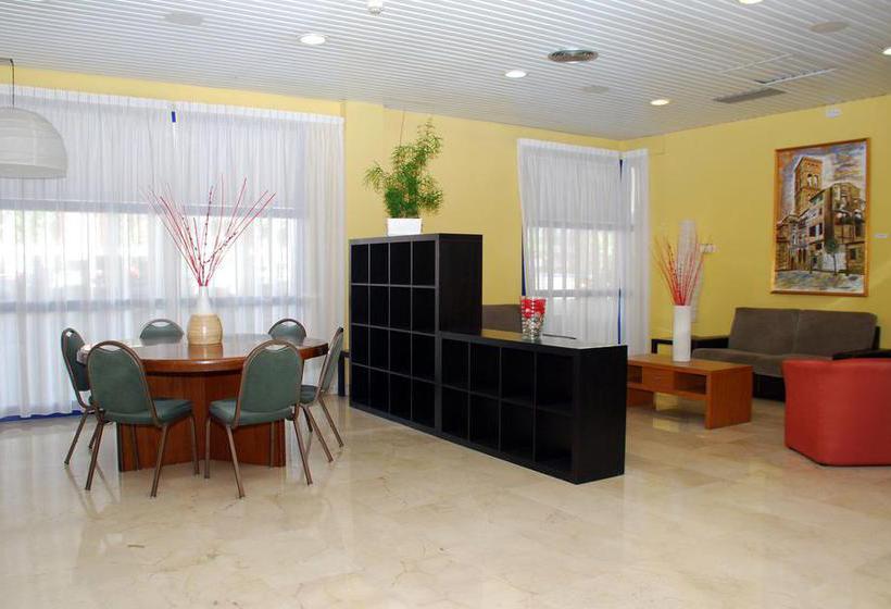 Gemeinschaftsbereiche Hotel Las Gaunas Logronyo