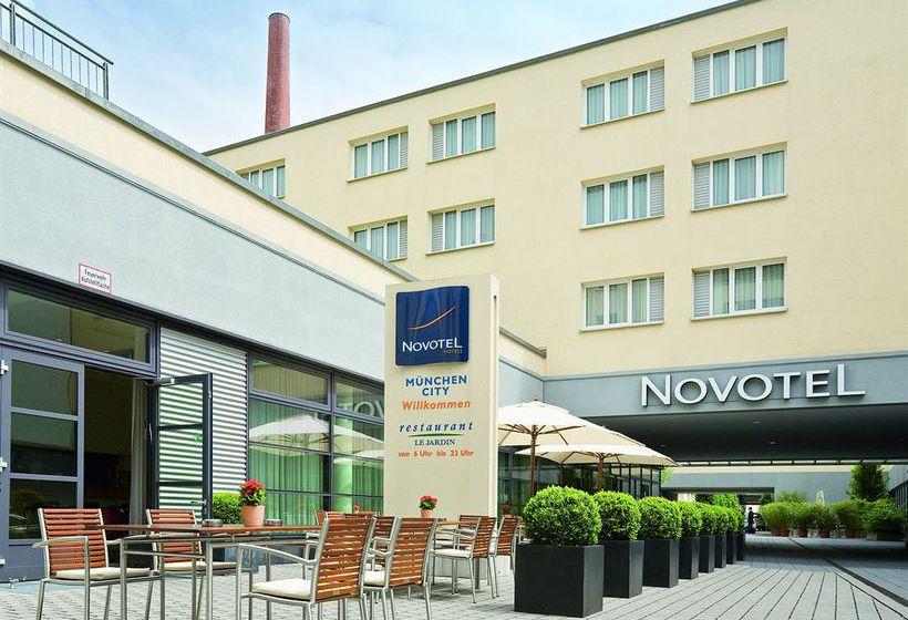 novotel muenchen city in munich starting at 40 destinia. Black Bedroom Furniture Sets. Home Design Ideas