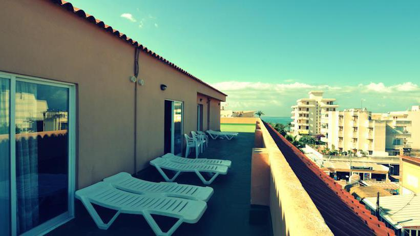 Terrasse Hotel Fergus Capi Playa Platja de Palma