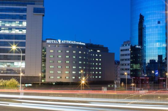 호텔 Attica21 Coruña 라코루냐