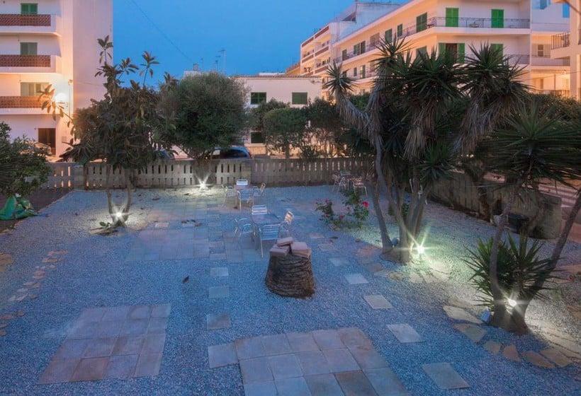 أماكن عامة NWT Hostal Sunset Ibiza سان أنطونى دى بورتمانى