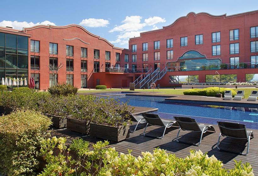 Aussenbereich Hotel Barcelona Golf Resort & Spa Sant Esteve Sesrovires