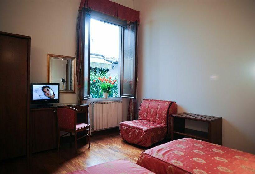 Zimmer Hotel Accademia Florenz
