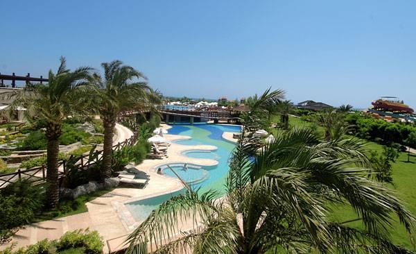 Aussenbereich Hotel Sherwood Breezes Resort Antalya