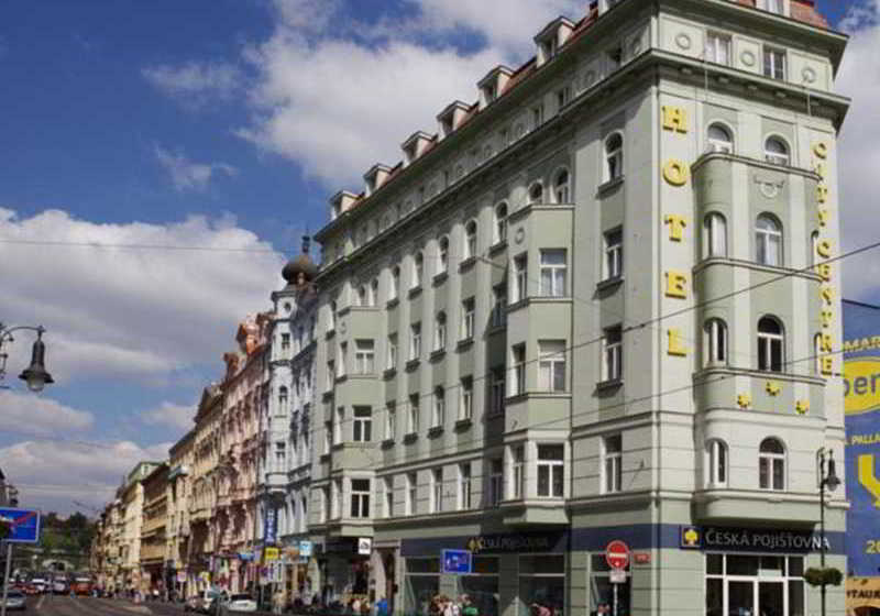 H tel city centre prague partir de 18 destinia for Hotel city central prague