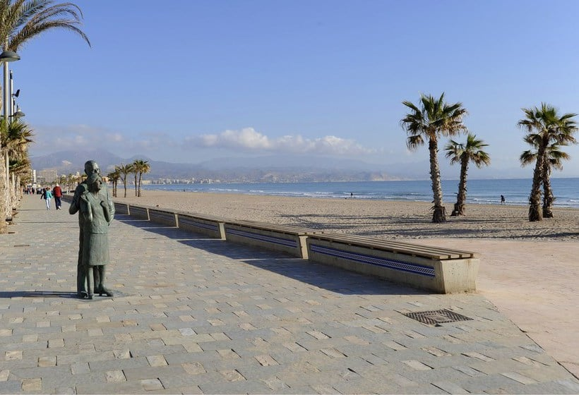 Extérieur Hôtel Castilla Alicante Playa de San Juan