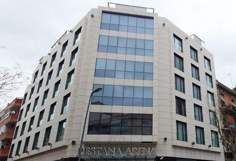 Aussenbereich Hotel Pestana Arena Barcelona