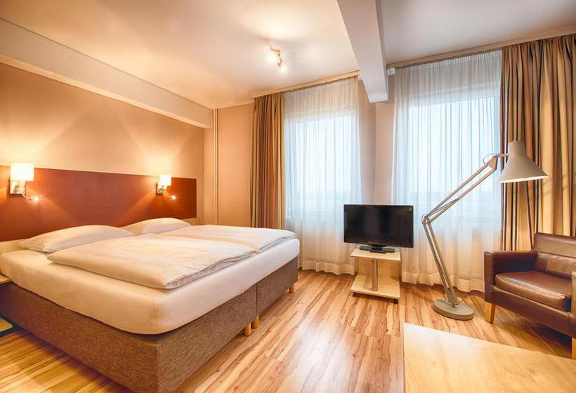 Quarto Hotel Enjoy Berlin City Messe Berlim