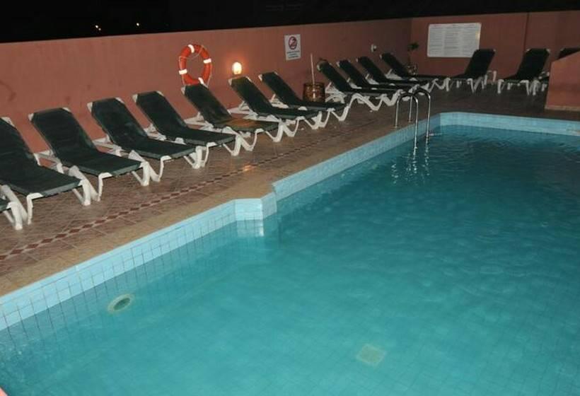 Piscina Hotel Mogador Express Bab Doukkala Marrakech