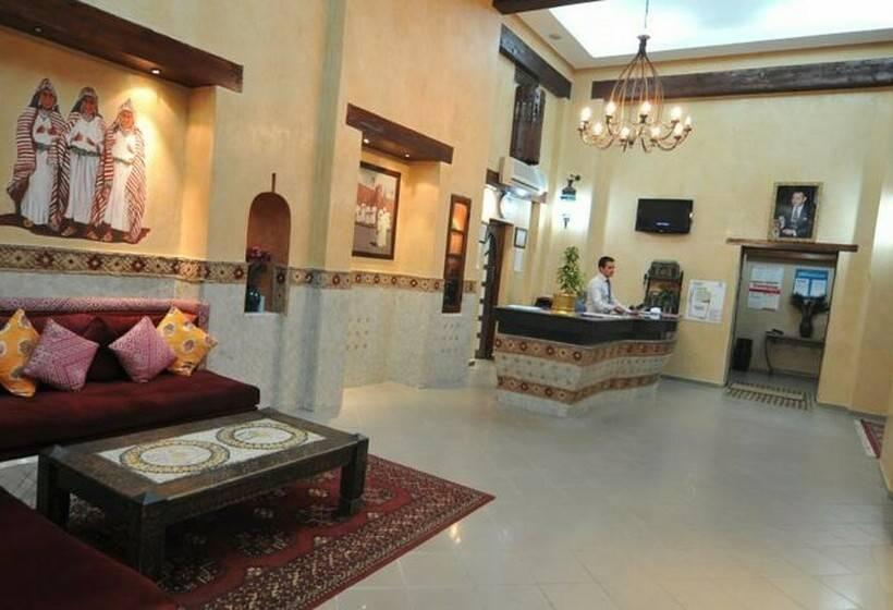 Zonas comunes Hotel Mogador Express Bab Doukkala Marrakech