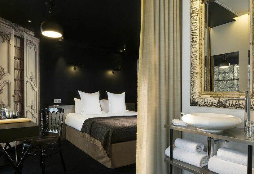 h tel eug ne en ville paris partir de 21 destinia. Black Bedroom Furniture Sets. Home Design Ideas