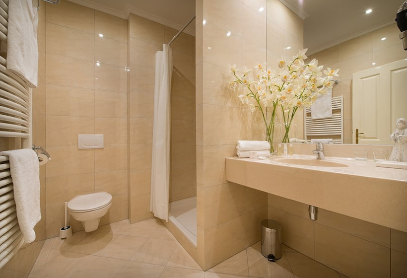 Salle de bain Hôtel Angelis Prague