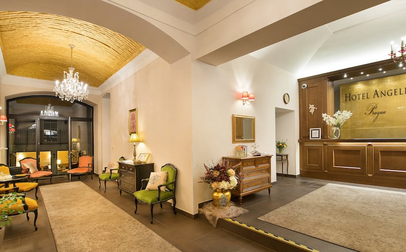Zonas comuns Hotel Angelis Praga
