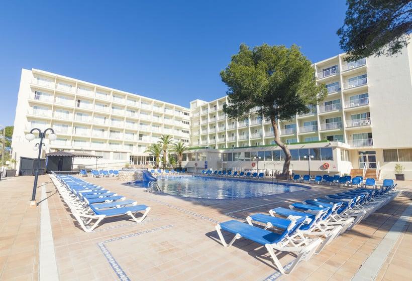 Zwembad AzuLine Hotel Coral Beach Es Canar