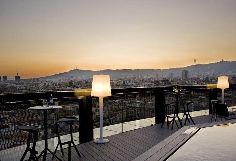 Terrasse Hotel Barceló Raval Barcelona