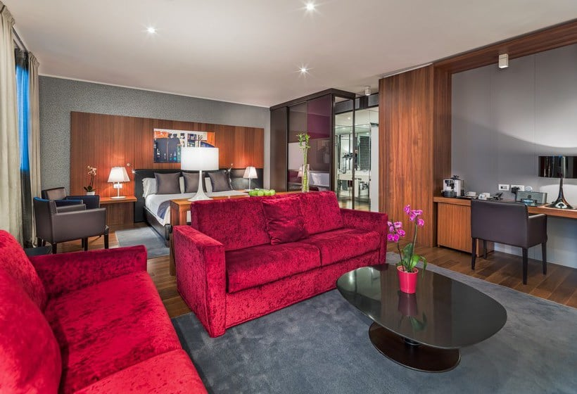 Zimmer Hotel H10 Roma Citta