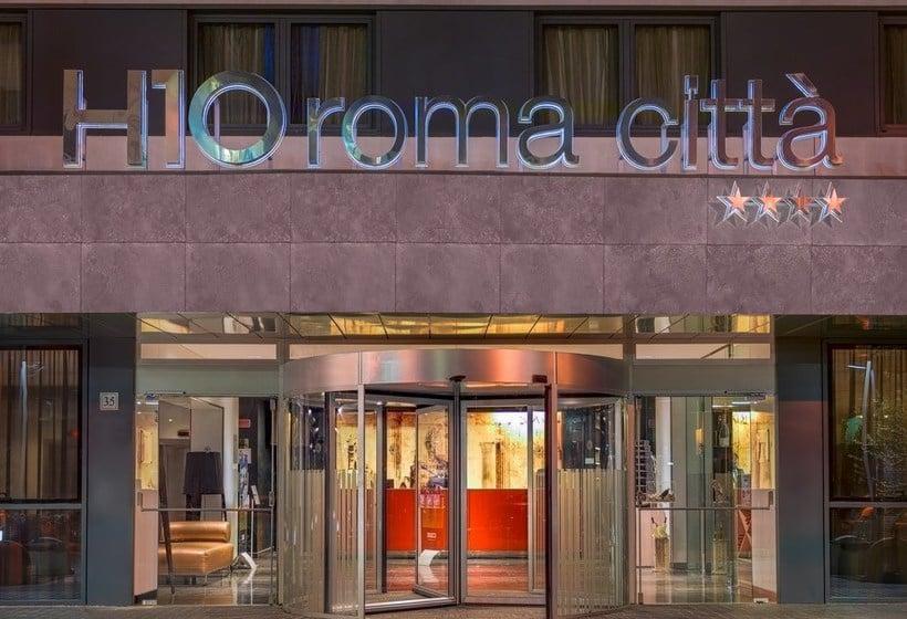 Aussenbereich Hotel H10 Roma Citta