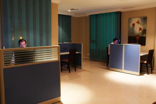 Front desk Hotel Times Square Suite Kuwait