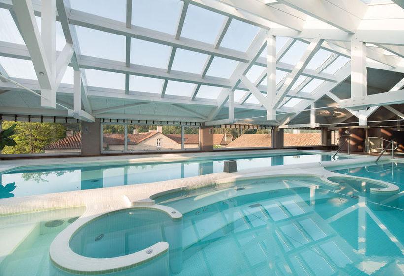 Piscina A Quinta da Auga Hotel Spa Relais & Châteaux Santiago de Compostela