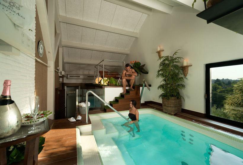 A quinta da auga hotel spa relais ch teaux em santiago - Piscina santiago de compostela ...