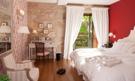 Quarto A Quinta da Auga Hotel Spa Relais & Châteaux Santiago de Compostela