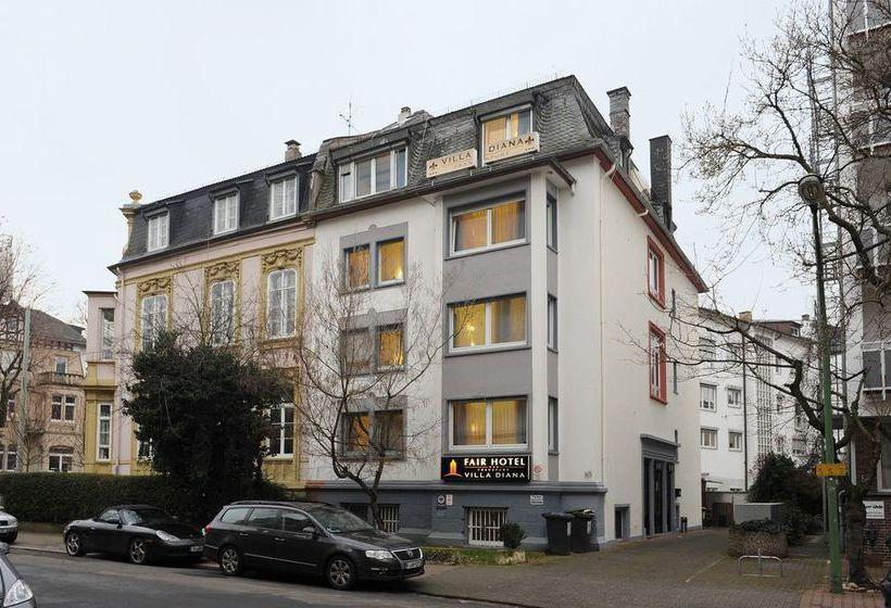 Fair Hotel Villa Diana Westend Frankfurt