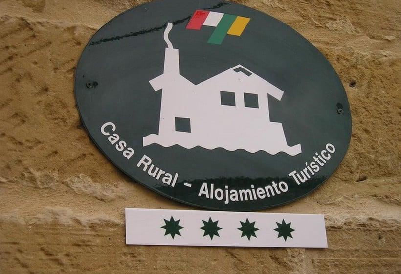 Aussenbereich Casa Rural Torre Fuerte Baños de Rioja