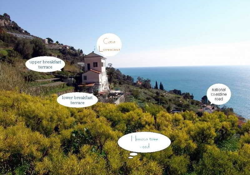 Romantic Casa Lorenzina Bed & Breakfast Ventimiglia