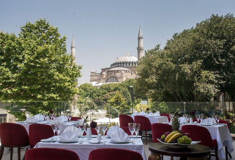 Restaurant Hagia Sophia Hotel Istanbul Old City